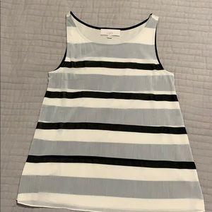 LOFT-mixed media sleeveless top